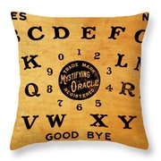 Ouija Board 3 Throw Pillow