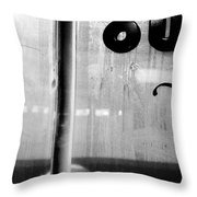 Our Coffee Place Throw Pillow