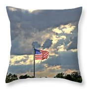 Our Country Throw Pillow by Dan Sproul