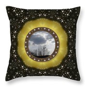 Our Earth Our Mother Pop Art Throw Pillow