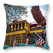 Our Float Floats Throw Pillow