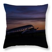 Our Heritage At Sunrise Throw Pillow
