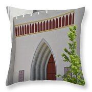 Our Lady Of The Atonement Church Throw Pillow