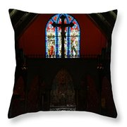 Our Lady Of The Atonement Throw Pillow