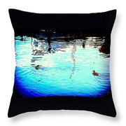 Our Life In The Middle Of Our Sea  Throw Pillow