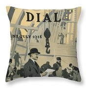 Our New Dry Dock Throw Pillow by Edward Hopper