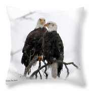 Our Time Throw Pillow