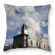 Our Town - Grants Pass In Old Town Throw Pillow
