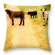 Our Way Or The Highway P Throw Pillow