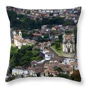 Ouro Preto Brazil 1 Throw Pillow