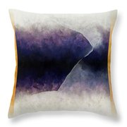 Ouroboros Three Blue, 2010 Throw Pillow