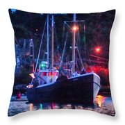 Out Before Dawn Throw Pillow