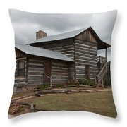 Cavender Creek Vineyards Cabin Throw Pillow