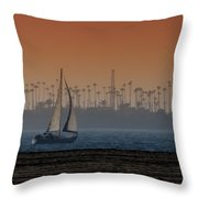 Out For A Sail 2 Throw Pillow