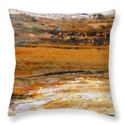 Out In The Fields Throw Pillow