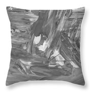 Out Kash Throw Pillow