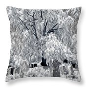 Out-lived Death Throw Pillow