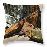 Out Of Balance Throw Pillow
