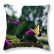Out Of Bounds 3 Throw Pillow