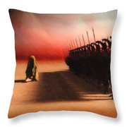 Out Of Egypt Throw Pillow