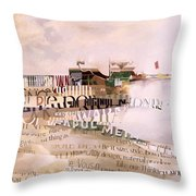 Out Of Season Throw Pillow by Jeremy Annett