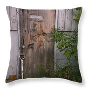 Out Of Service Throw Pillow