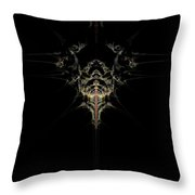 Out Of The Blue / Into The Black Throw Pillow