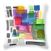 Out Of The Box Throw Pillow by Linda Woods