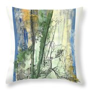 Out Of The Deep Woods Throw Pillow