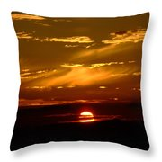 Out Of The Earth's Core Throw Pillow