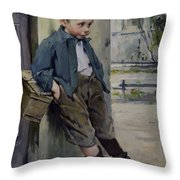 Out Of The Game Throw Pillow