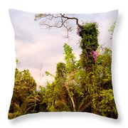 Out Of The Jungle Throw Pillow