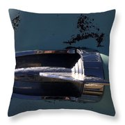 Out Of The Silo Throw Pillow