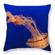 Out Of This World - Jellyfish Throw Pillow