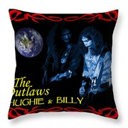 Out Of This World Music Throw Pillow