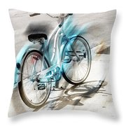 Out On Marches Throw Pillow