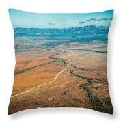 Outback Flinders Ranges Throw Pillow