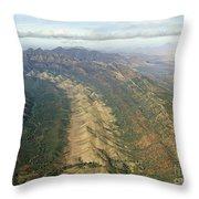 Outback Mountains Throw Pillow