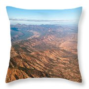 Outback Ranges Throw Pillow