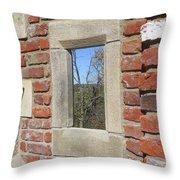 Outdoor Artwork Throw Pillow