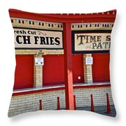 Outdoor Diner Throw Pillow
