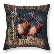 Outdoor Traditions Elk Throw Pillow