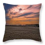 Outer Banks Sunset Throw Pillow