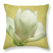 Outer Magnolia Throw Pillow