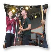 Outernational Throw Pillow