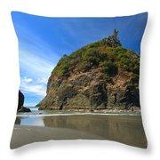 Outgoing Trinidad Tide Throw Pillow