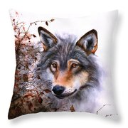 Outlawed Throw Pillow