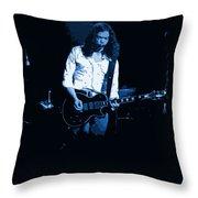 Outlaws #12 Art Blue 2 Throw Pillow