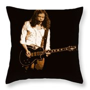 Outlaws #12 Art Colored Throw Pillow