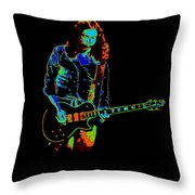 Outlaws #12 Art Cosmic Throw Pillow